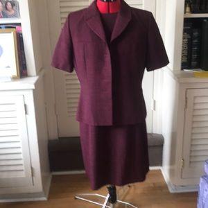 Two piece classic dress with jacket size 12 Kasper